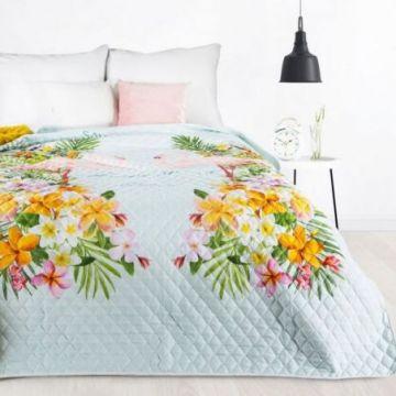 Narzuta 170x210 Design 91 FLAMINGO mięta+róż