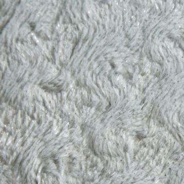 Narzuta na łóżko 200x220 ROSALIA srebrny