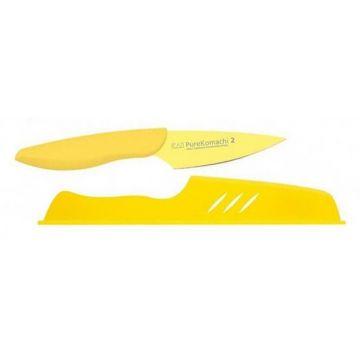 Obierak 9 cm + podstawka żółty PURE KOMACHI 2 KAI