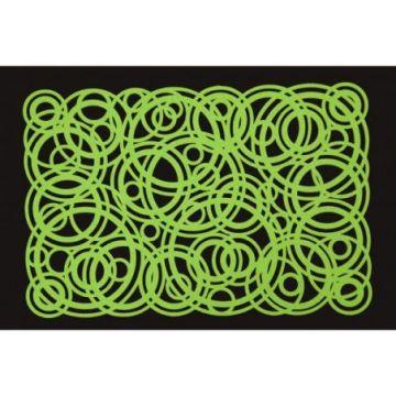 Podkładka filcowa 30x120 E CAROL zielony