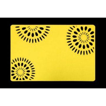 Podkładka filcowa 30x120 E IVONNE żółty