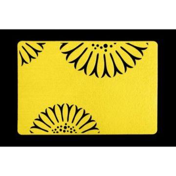 Podkładka filcowa 30x120 E LAURA żółty