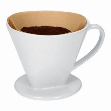 Porcelanowy zaparzacz do kawy drip rozmiar 4 Weis