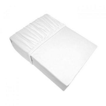 Prześcieradło 160x200 Eurofirany JERSEY biały