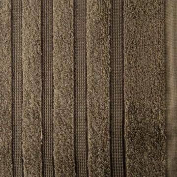 Ręcznik Eurofirany JADE 50x90 j.brąz