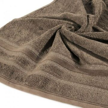 Ręcznik Eurofirany JUDY 70x140 brąz