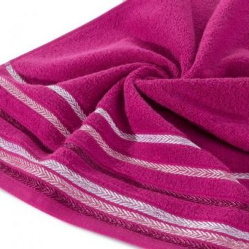 Ręcznik Eurofirany LIVIA 50x90 amarant