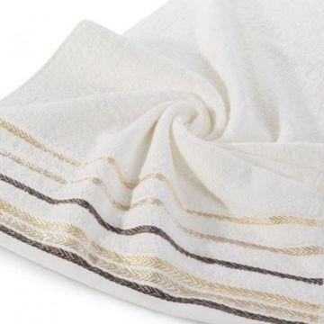 Ręcznik Eurofirany LIVIA 70x140 krem