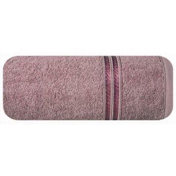 Ręcznik Eurofirany LORI 70x140 c.lila