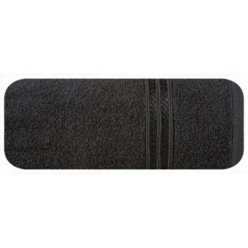 Ręcznik Eurofirany LORI 70x140 czarny