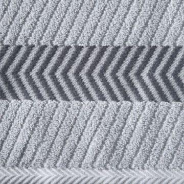 Ręcznik Eurofirany MATEO 50x90 srebrny