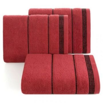 Ręcznik Eurofirany MIRA 50x90 czerwony