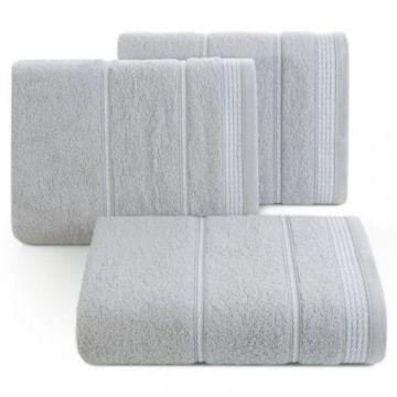 Ręcznik Eurofirany MIRA 50x90 srebrny