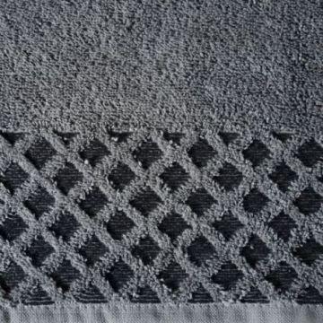Ręcznik Eurofirany NELA 70x140 stalowy