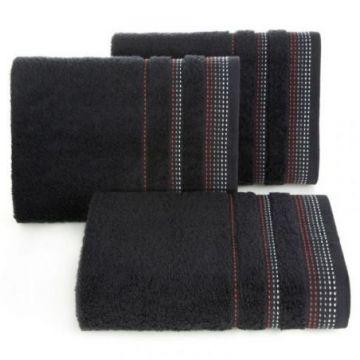Ręcznik Eurofirany POLA 50x90 czarny