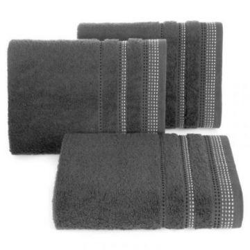 Ręcznik Eurofirany POLA 50x90 popiel