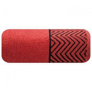 Ręcznik Eurofirany ZIGGY 50x90 czerwony
