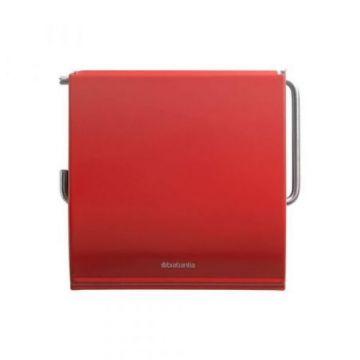 Uchwyt na papier toaletowy czerwony Brabantia