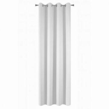 Zasłona gotowa Design 91 135x250 PARISA biały