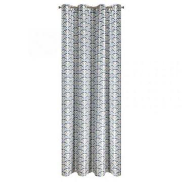 Zasłona gotowa Design 91 140x250 ABEL s+srebrny