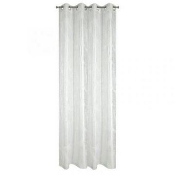Zasłona gotowa Design 91 140x250 NADIN biały+sreb