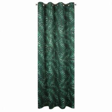 Zasłona na przelotkach 140x250 D91 HILARY zielony