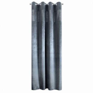Zasłona na przelotkach 140x250 GALA grafit