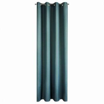 Zasłona na przelotkach 140x250 KIRA niebieski