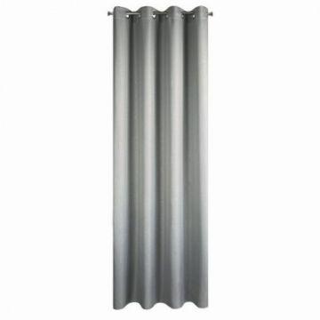 Zasłona na przelotkach 140x250 KIRA srebrny
