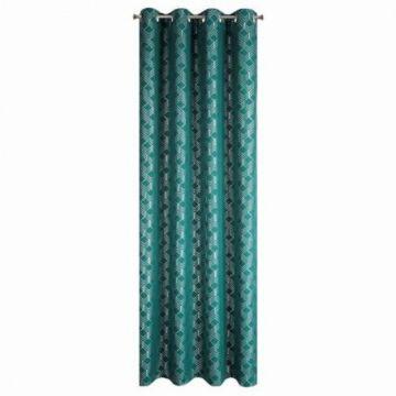 Zasłona na przelotkach 140x250 NOELIA zielony
