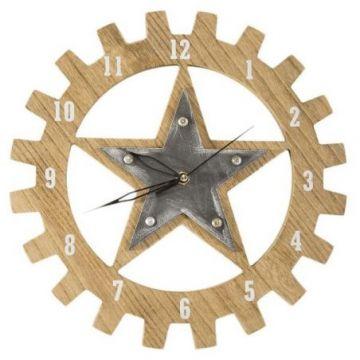 Zegar ścienny designerski Eurofirany TEXA 01