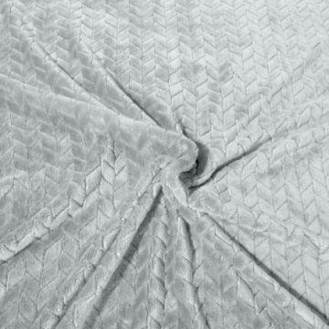 Koc 170x210 Design 91 CINDY srebrny