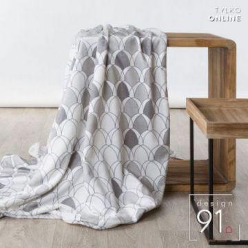 Koc 170x210 Design 91 KLOE srebrny