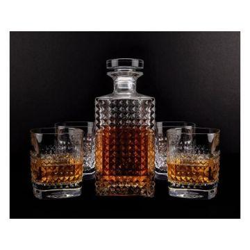 Komplet do whisky karafka + 6 szklanek Ambrosia